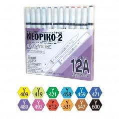 Набор маркеров Neopiko-2 12A