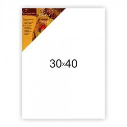 Холст на подрамнике Сонет 100% лен, среднее зерно, 30x40 см.