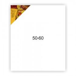 Холст на подрамнике Сонет 100% хлопок, крупное зерно, 50x60
