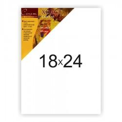 Холст на подрамнике Сонет 45% хлопок и 55% лен, крупное зерно, 18x24