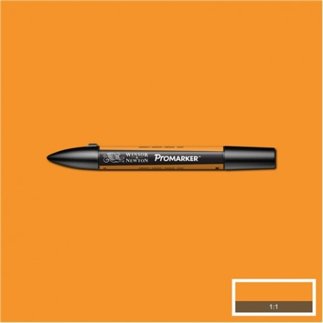 Маркер двусторонний Promarker W&N Оранжевый янтарный (O567, Amber)