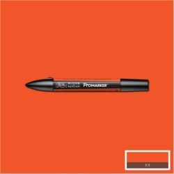 Маркер двусторонний Promarker W&N Оранжевый яркий (O177, Bright Orange)