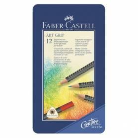 Набор цветных карандашей Art Grip, 12 шт., металлическая упаковка