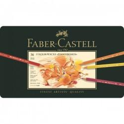 Набор цветных карандашей Faber-Castell Polychromos в металлической коробке, 36 цветов