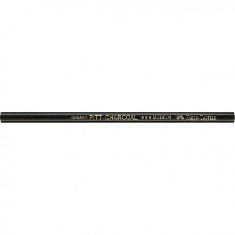 Натуральный уголь-карандаш средней твердости Pitt Monochrome от Faber-Castell