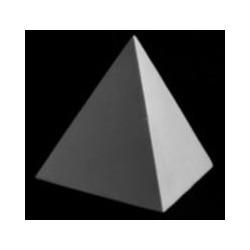 Гипсовая правильная пирамида
