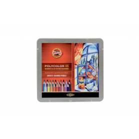 Набор цветных карандашей Koh-i-noor Polycolor, 48 цветов, металлическая коробка