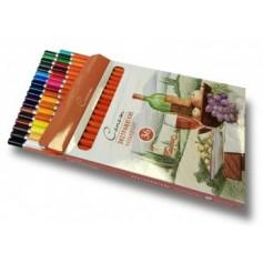 Экстрамягкие карандаши Сонет, 36 цветов
