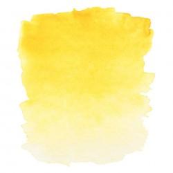 """Индийская желтая акварель """"Белые ночи"""", кювет 2.5 мл."""