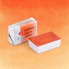 Акварельная краска Лак оранжевый Белые ночи, кювет 2.5 мл.