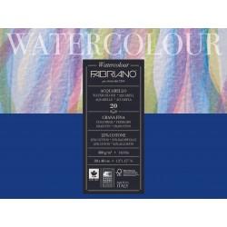 Блок для акварели Fabriano Watercolour Studio Фин 30x40 см., 20 л., 300 г/м2, склейка по 4 сторонам