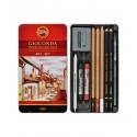 Художественный набор Koh-i-Noor Gioconda, 10 предметов, металлическая упаковка