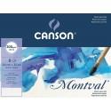 Папка бумаги для акварели Canson Montval Фин 24х32 см., 8 л., 300 г/м2