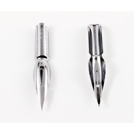 Перо Nikko Spoon-pen N357C (хром)