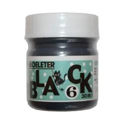 Черные чернила для манги и комиксов Deleter Black 6