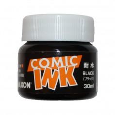 Черные водостойкие чернила для манги и комиксов Maxon
