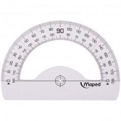 """Транспортир Maped """"Geometric, 12 см, 180°, прозрачный пластик"""