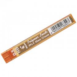 Грифели для механических карандашей Pilot, 12 шт., 0,5 мм., HB