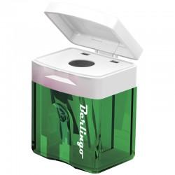 Точилка пластиковая с контейнером Berlingo, одно отверстие