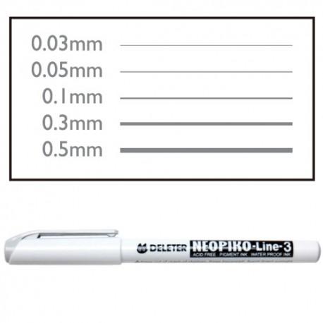 Линеры серые Neopiko-3
