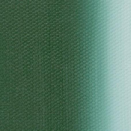 Масляная краска английская зеленая темная Мастер-класс, 46 мл.
