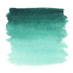 """Зеленая оригинальная акварель """"Белые ночи"""", кювет 2.5 мл."""