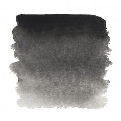Акварельная краска Сажа газовая Белые ночи, кювет 2.5 мл.