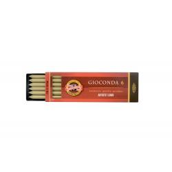 Набор стержней Koh-i-noor Gioconda, золото, 5.6 мм., 6 шт.