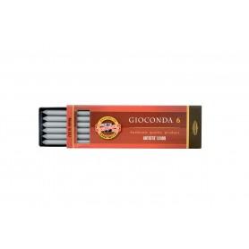 Набор стержней для цанговых карандашей Koh-i-noor Giocond, серебро, 5.6 мм., 6 шт.