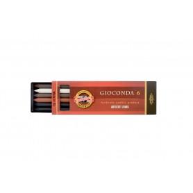 Набор стержней Koh-i-noor Gioconda MIX №1, 5.6 мм., 6 шт.