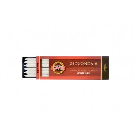 Набор стержней Koh-i-noot Gioconda, белый мел, 5.6 мм., 6 шт.