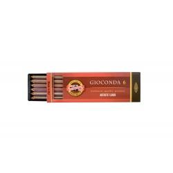 Набор многоцветных стержней Koh-i-noor Gioconda Magic, 5.6 мм., 6 шт.