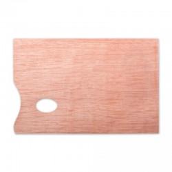 Палитра из фанеры прямоугольная Сонет, 30x40 см.