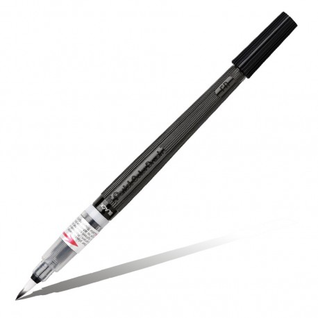 Кисть с краской Colour Brush Pen, черный цвет