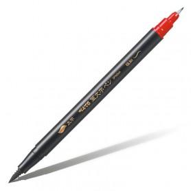 Двусторонний фломастер-кисть Pentel Brush Pen