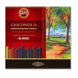Набор масляной пастели Koh-i-noor Gioconda, 24 цвета