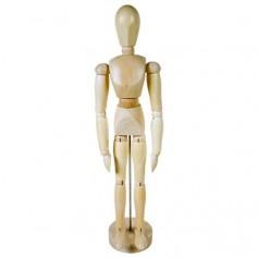 Манекен человека мужской, 30 см.