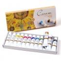 Набор масляных красок Сонет, 12 цветов по 10 мл.