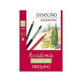 Альбом для рисования Fabriano Academia Drawing 29,7x42 см., 30 л., 200 г/м2., склейка по короткой стороне