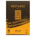 Альбом для рисования Fabriano Schizzi, 29,7x42 см., 100 л., 90 г/м2, склейка по короткой стороне