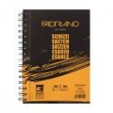 Альбом для рисования Fabriano Schizzi, 14,8x21 см., 60 л., 90 г/м2, спираль по длинной стороне