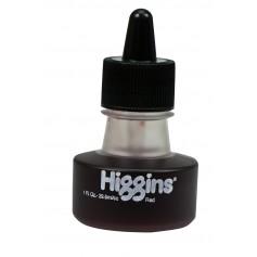 Чернила красные Higgins Red Dye-Based, 1 OZ (29,6 мл.)