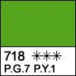 Масляная краска Желто-зеленая Сонет, туба 46 мл.