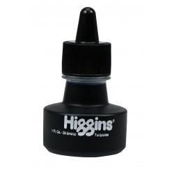 Чернила бирюзовые Higgins Turquoise Dye-Based, 1 OZ (29,6 мл.)