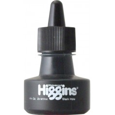 Чернила черные Higgins Black India, 1 OZ (29,6 мл.)