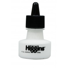 Чернила Higgins White Pigment-Based, 1 OZ (29,6 мл.)