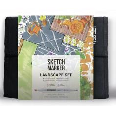 Набор маркеров SKETCHMARKER Landscape 36 set - Ландшафтный дизайн