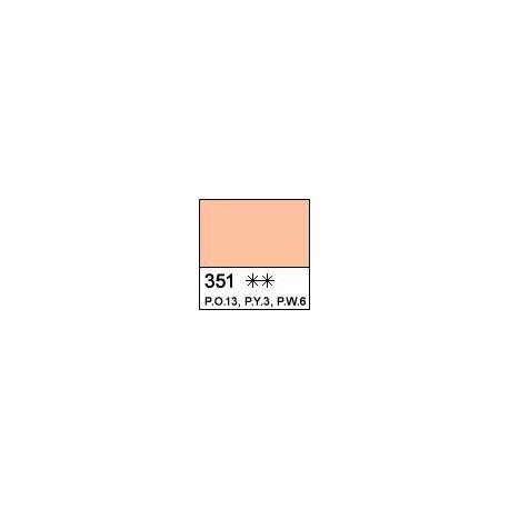 """Масляная краска Оранжево-палевая """"Сонет"""", туба 46 мл."""