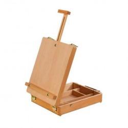 Мольберт-планшет настольный с ящиком Сонет, бук, 32х24,4х7,2 (62) см.