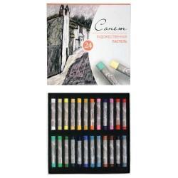 Набор художественной пастели Сонет, 24 цвета